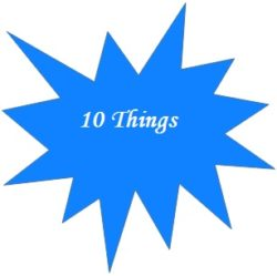 10 Things I want my son to learn before he turns thirteen