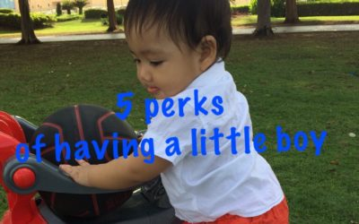 5 Perks of Having a Little Boy